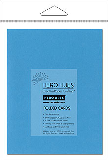 Cerulean Folded Cards picture