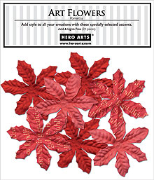 Art Flowers Poinsettia picture