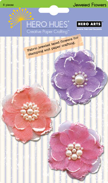 Jeweled Pastel Flowers picture