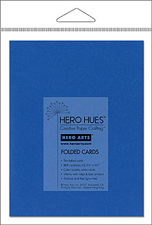 Azure Folded Cards picture