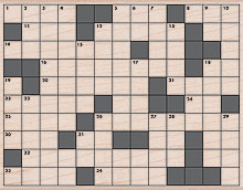 Crossword Background picture