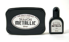 Stazon Silver Ink Set picture