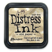 Tim Holtz: Old Paper Distress Dye Ink Pad picture