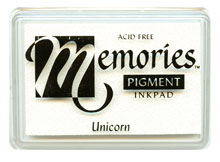 Memories Pigment Inkpad In Unicorn picture