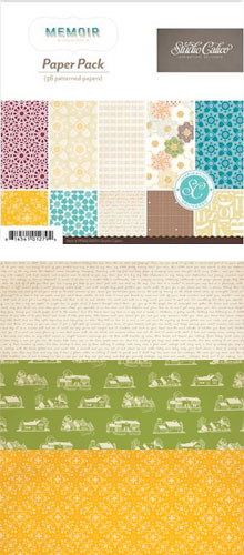Studio Calico Memoir Paper Pack picture