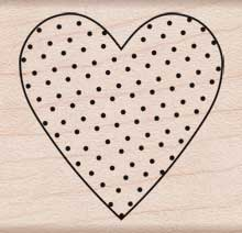 Polka Dot Heart picture
