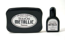 Stazon Platinum Ink Set picture