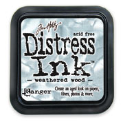 Tim Holtz: Weathered Wood Distress Dye Ink Pad picture