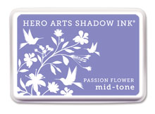 Passion Flower Mid-Tone Ink picture