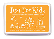Just For Kids Orange Inkpad picture