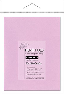 Lilac Folded Cards picture