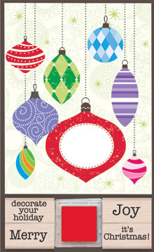 Add Your Message Ornament picture
