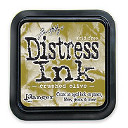 Crushed Olive Distress Dye Ink Pad picture