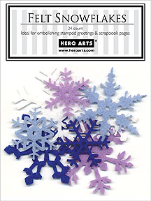Felt Snowflakes picture