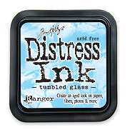 Tumbled Glass Distress Dye Ink Pad picture
