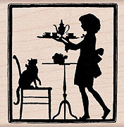 Tea Time Silhouette picture