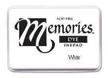 Memories Ink Pad - White picture