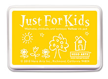Just For Kids Yellow Inkpad picture