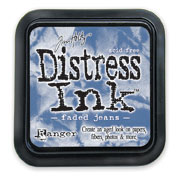Tim Holtz: Faded Jeans Distress Dye Ink Pad picture