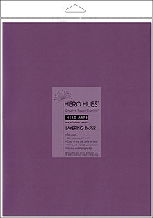 Aubergine Layering Papers picture