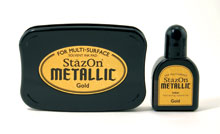 Stazon Gold Ink Set picture