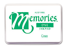 Memories Ink Pad - Green picture