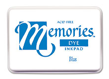 Memories Ink Pad - Blue picture
