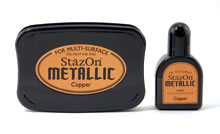 Stazon Copper Ink Set picture