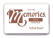 Memories Ink Pad - Artprint Brown picture