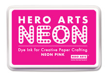 Af Neon Ink Pad - Pink picture