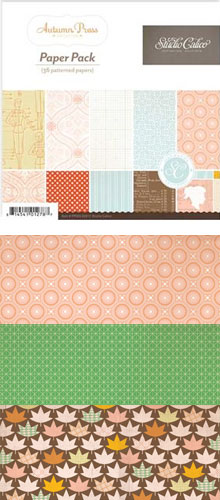 Studio Calico Autumn Press Paper Pad picture