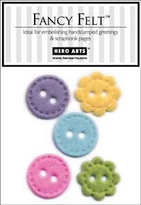 Spring Felt Buttons picture