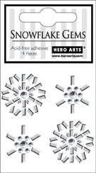 Snowflakes Gem Shapes picture