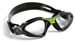 Kayenne™ Regular Fit - Clear Lens - Black Frame with Green Accents