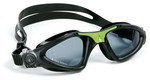 Kayenne™ Regular Fit - Smoke Lens - Black Frame with Green Accents
