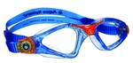 Kayenne™ Jr - Clear Lens - Trans Blue Frame with Orange Accents