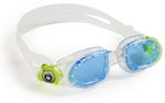 Moby Kid™ - Blue Lens - Translucent Frame with Yellow Accents