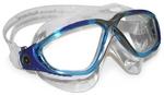 Vista™ - Clear Lens - Aqua/Silver Frame
