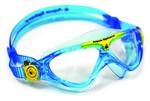 Vista™ Jr - Clear Lens - Aqua Frame