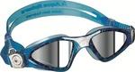 Kayenne™ Small Fit - Mirrored Lens - White/Aqua Frame