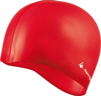 Classic Silicone Swim Cap - Red picture