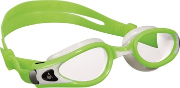 Kaiman Exo™ Small Fit - Clear Lens Lime and White picture