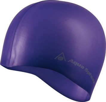 Classic Silicone Fashion Cap - Purple/Silver picture