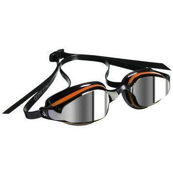 K180+™ - Mirrored Lens - Black/Orange Frame picture