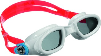 Mako™ - Tinted Lens - White/Aqua Frame picture