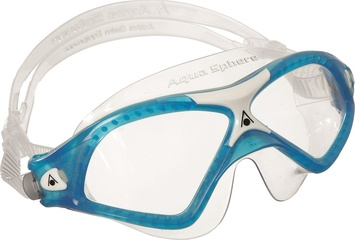 Seal XP2™ - Clear Lens - Aqua/White Frame picture