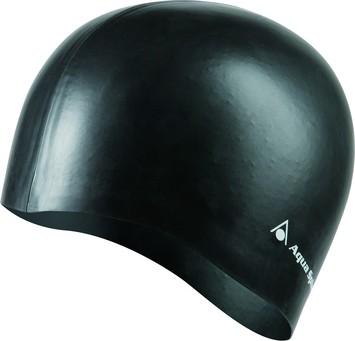 Classic Silicone Swim Cap - Black picture