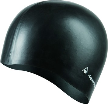 Silicone Long Hair Cap - Black picture