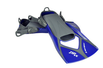 Zip VX Fin - Blue & Grey - Small (3-6) picture