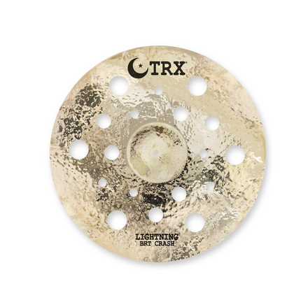 "TRX BRT Series 18"" Lightning Crash Cymbal picture"